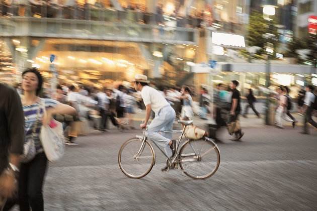 Tokyo Enjoys Life in the Slow Lane